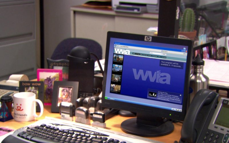 WVIA in The Office – Season 9, Episode 16, Moving On (1)