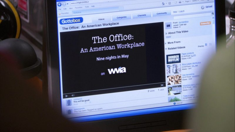 """WVIA in The Office – Season 9, Episode 18, """"Promos"""" (2013) - TV Show Product Placement"""