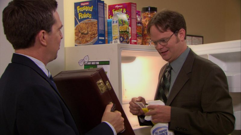 """Wegmans Cereals in The Office – Season 6, Episode 9, """"Double Date"""" (2009) - TV Show Product Placement"""