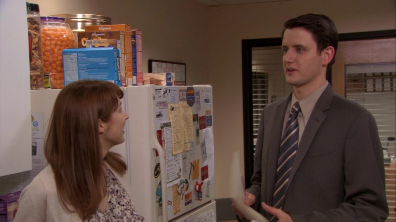 """Wegmans Cereals in The Office – Season 7, Episode 24, """"Dwight K. Schrute, (Acting) Manager"""" (2011) - TV Show Product Placement"""