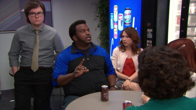 "Wegmans Fountain Root Beer Enjoyed by Craig Robinson (Darryl Philbin) in The Office – Season 9, Episodes 22-23, ""A.A.R.M."" (2013) - TV Show Product Placement"