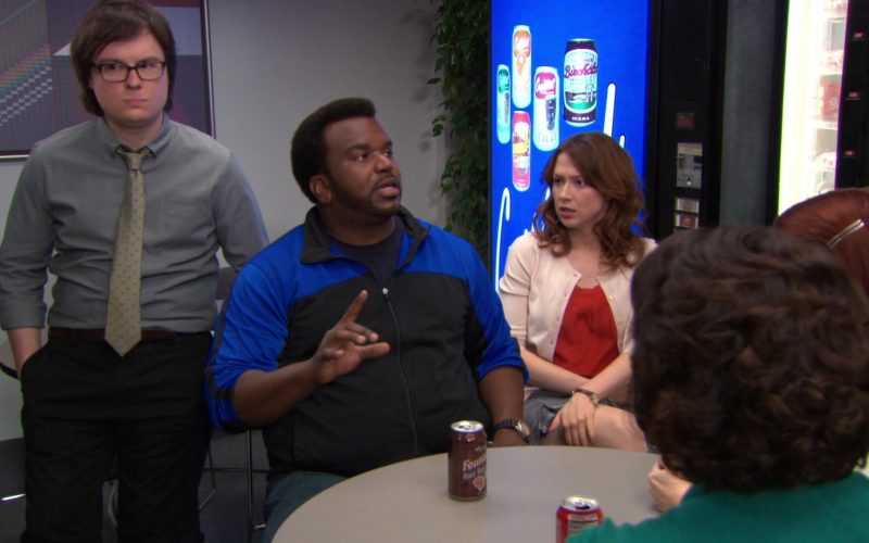 Wegmans Fountain Root Beer Enjoyed by Craig Robinson (Darryl Philbin) in The Office (1)