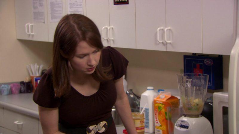 "Wegmans Orange Juice in The Office – Season 6, Episode 15, ""Sabre"" (2010) TV Show Product Placement"