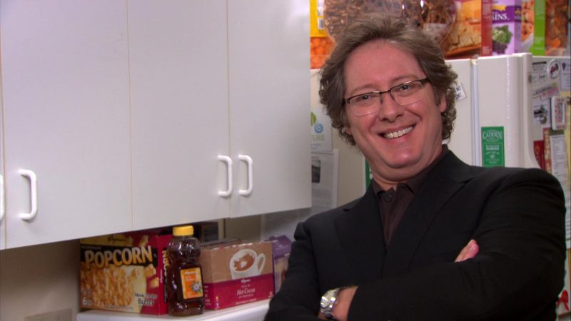 "Wegmans Popcorn, Honey and Cocoa in The Office – Season 8, Episode 21, ""Angry Andy"" (2012) - TV Show Product Placement"