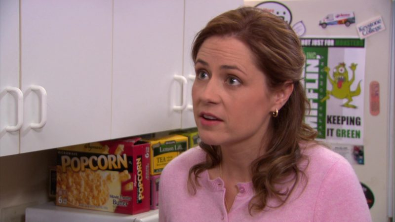 "Wegmans Popcorn in The Office – Season 9, Episode 15, ""Couples Discount"" (2013) - TV Show Product Placement"