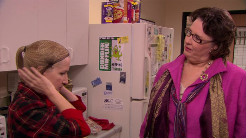 "Wegmans Quick Oats in The Office – Season 5, Episode 11, ""Moroccan Christmas"" (2008) - TV Show Product Placement"
