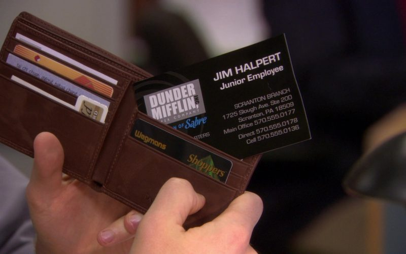 Wegmans Shoppers Card Used by John Krasinski (Jim Halpert) in The Office