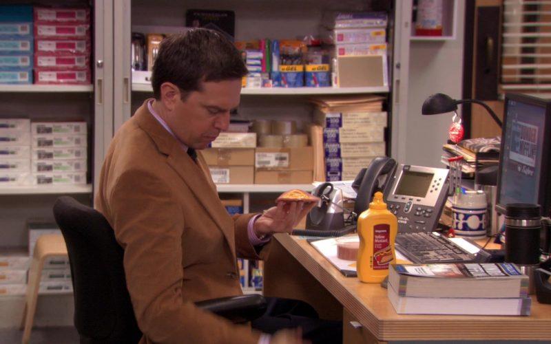 Wegmans Yellow Mustard in The Office