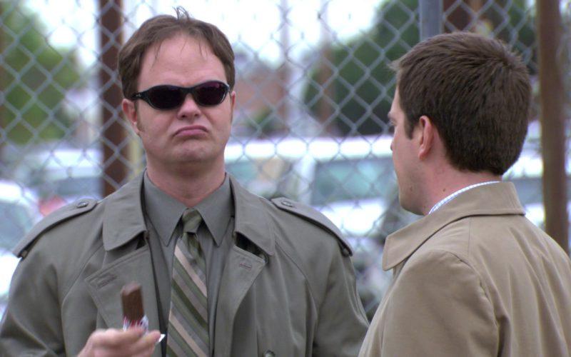 Wiley X Sunglasses Worn by Rainn Wilson (Dwight Schrute) in The Office – Season 3, Episode 22 (1)