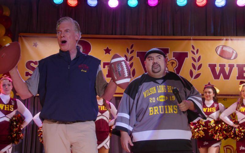Wilson American Football Held by Christopher McDonald in Mr. Iglesias (1)