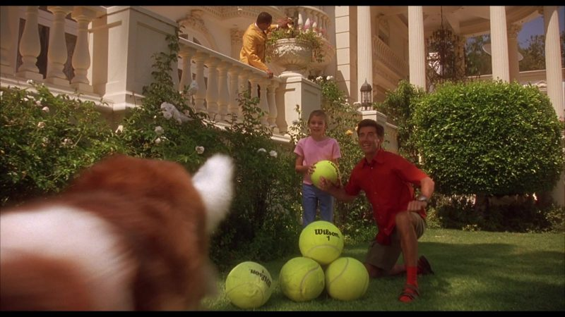 Wilson Big Tennis Balls in Beethoven's 4th (2001) - Movie Product Placement