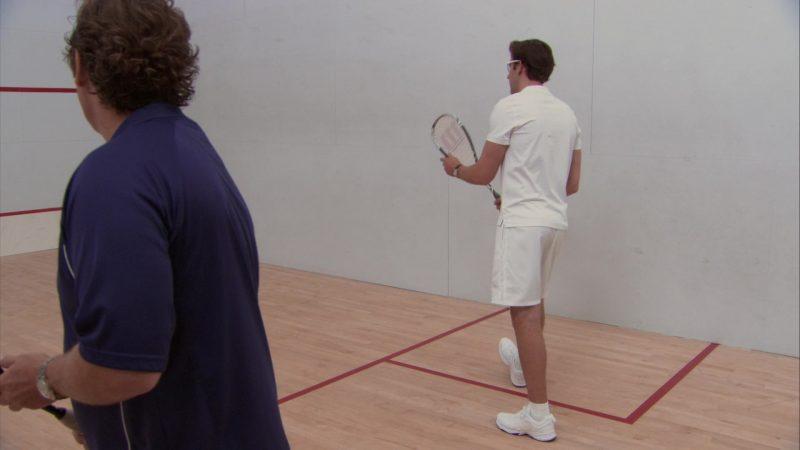 "Wilson Squash Racquet Used by John Krasinski (Jim Halpert) in The Office – Season 8, Episode 6, ""Doomsday"" (2011) - TV Show Product Placement"