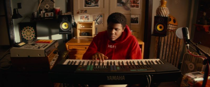 Yamaha Digital Piano Used by Khalil Everage in Beats (2019) - Movie Product Placement