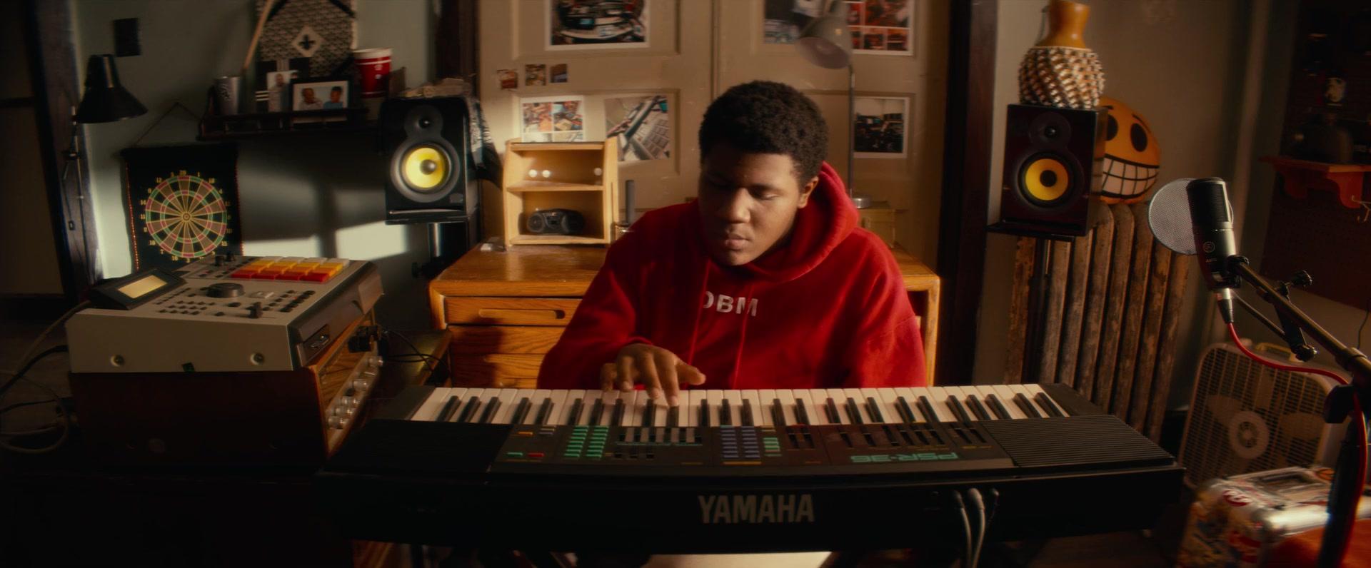 Yamaha Digital Piano Used by Khalil Everage in Beats (2019) Movie
