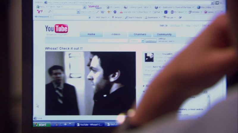 """Youtube Website in The Office – Season 4, Episode 18-19, """"Goodbye, Toby"""" (2008) - TV Show Product Placement"""