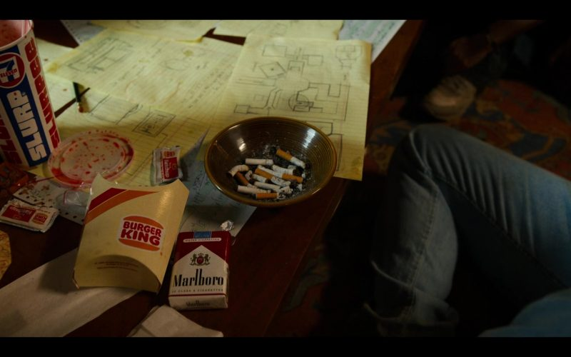 7-Eleven Slurpee Drink, Burger King, Marlboro Cigarettes in Stranger Things (1)