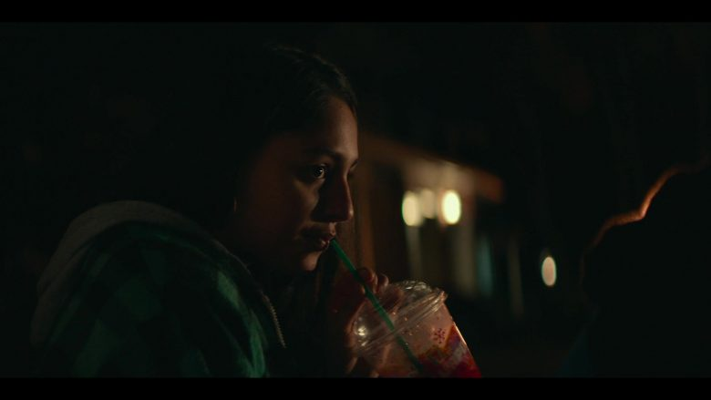 7-Eleven Slurpee Drinks Enjoyed by Rhianne Barreto in Share (2019) - Movie Product Placement