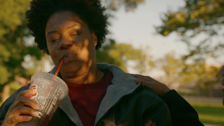 7-Eleven Super Big Gulp in Orange Is the New Black - Season 7, Episode 6, Trapped in an Elevator (2019) - TV Show Product Placement