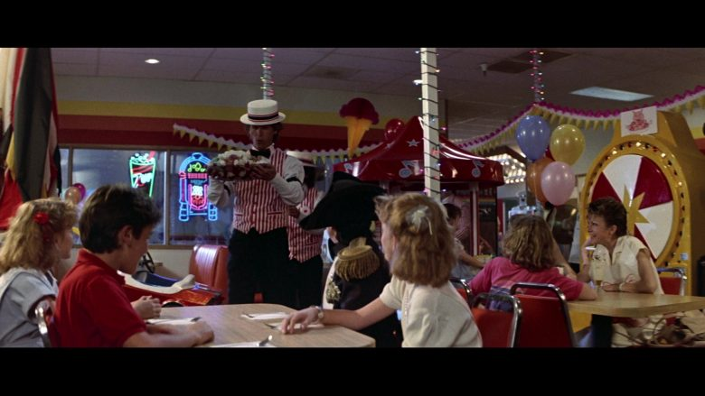 7UP Neon Sign in Bill & Ted's Excellent Adventure (1989) - Movie Product Placement