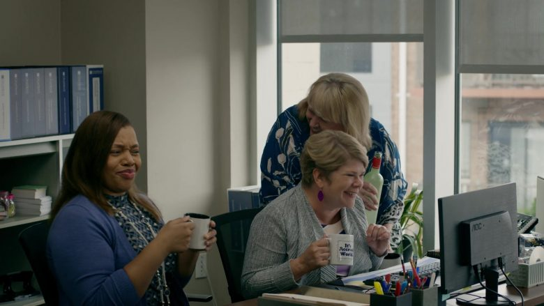 AOC Computer Monitors in Orange Is the New Black - Season 7, Episode 4, How to Do Life (2019) - TV Show Product Placement