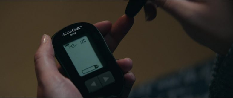 Accu-Chek Aviva Blood Glucose Meter in Breakthrough (2019) - Movie Product Placement