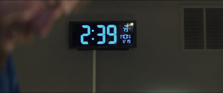 AcuRite Digital Clock in Breakthrough (2019) - Movie Product Placement