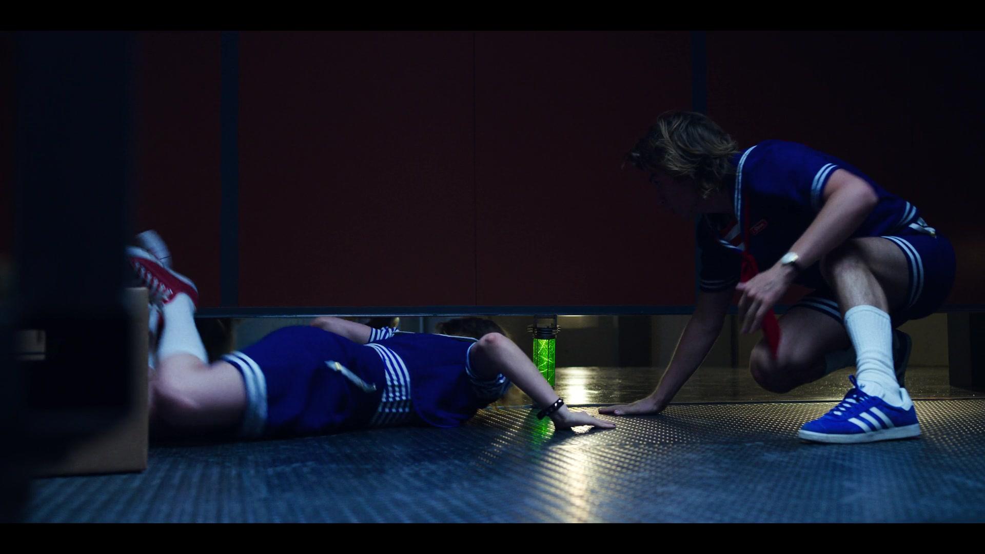Adidas Blue Shoes Worn By Joe Keery As Steve Harrington In