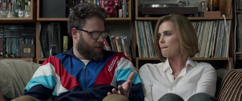 Adidas Jacket Worn by Seth Rogen in Long Shot (2019) - Movie Product Placement