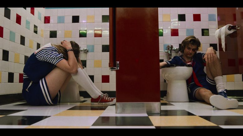 """Adidas Shoes Worn by Joe Keery as Steve Harrington in Stranger Things - Season 3, Episode 7, """"The Bite"""" (2019) - TV Show Product Placement"""