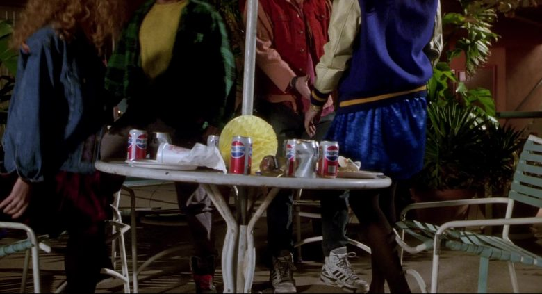 Adidas Shoes Worn by Keanu Reeves & Pepsi Soda Cans in Bill & Ted's Bogus Journey (1991) - Movie Product Placement