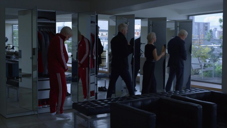 Adidas Tracksuit (Red) in The Rook - Season 1, Episode 3 (2019) - TV Show Product Placement