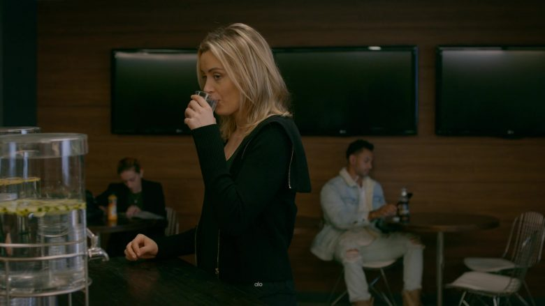 Alo Yoga Jacket Worn by Taylor Schilling as Piper Chapman in Orange Is the New Black - Season 7, Episode 7, Me as Well (2019) - TV Show Product Placement