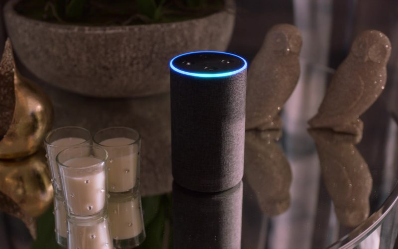 Amazon Echo Second-Generation Alexa Enabled Speaker in Four Weddings and a Funeral