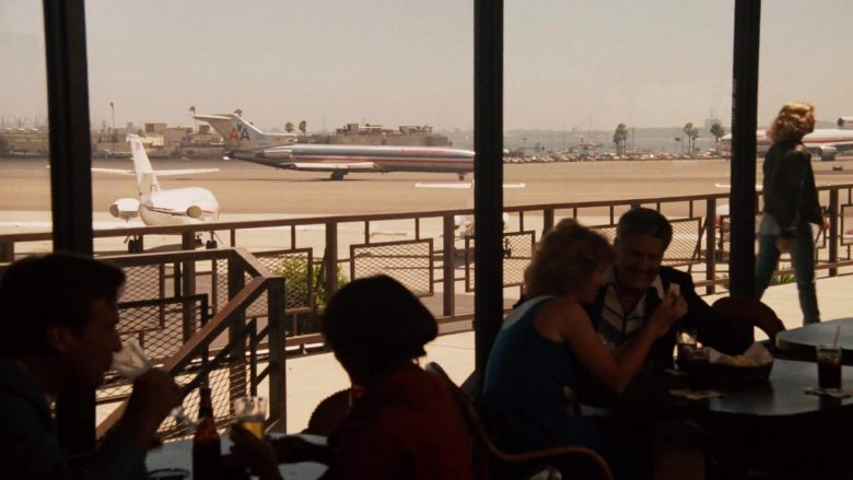 American Airlines Aircraft in Top Gun (1986) - Movie Product Placement