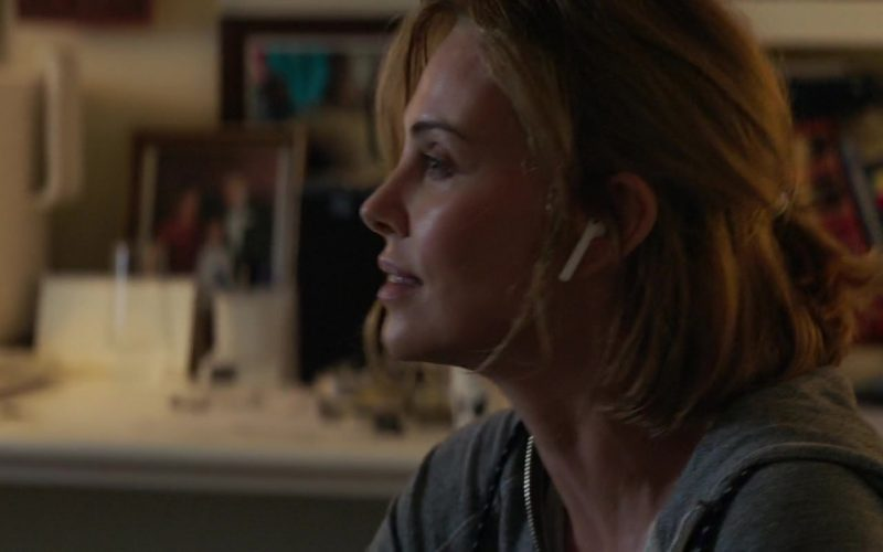 Apple AirPods Wireless Headphones Used by Charlize Theron in Long Shot (2)