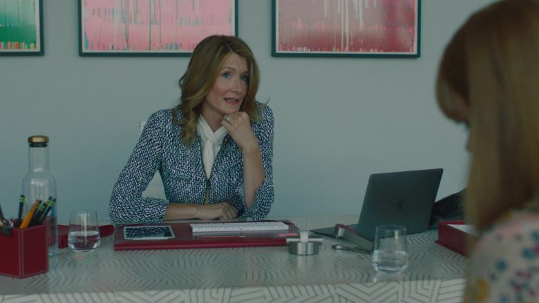 "Apple MacBook Laptop Used by Laura Dern in Big Little Lies - Season 2, Episode 5, ""Kill Me"" (2019) - TV Show Product Placement"
