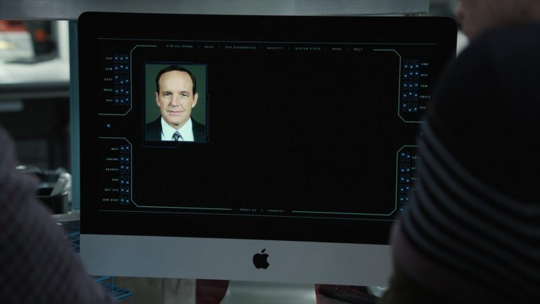 Apple iMac Computer in Marvel's Agents of S.H.I.E.L.D. - Season 6, Episode 10, Leap (2019) - TV Show Product Placement