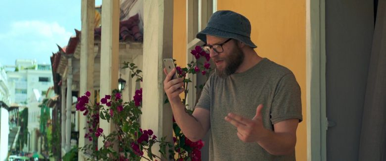 Apple iPhone Smartphone Used by Seth Rogen in Long Shot (2019) - Movie Product Placement