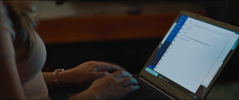 Asus Notebook used by Josephine Langford in After (2019) - Movie Product Placement