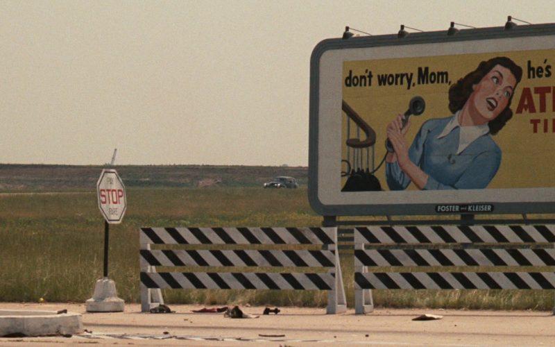 Atlas Tires Billboard in The Godfather (1972)