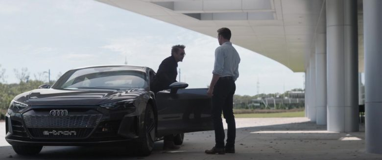 Audi E-Tron GT Car in Avengers: Endgame (2019) - Movie Product Placement