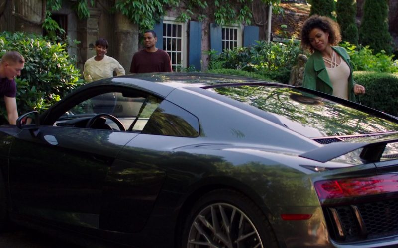 Audi R8 Sports Car in The Intruder (6)