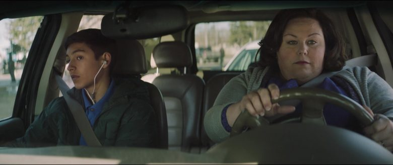 Chrissy Metz sitting in a car