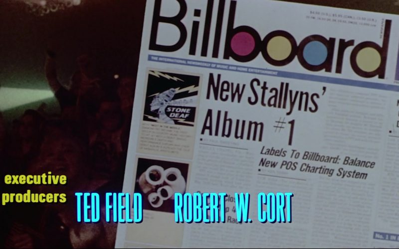 Billboard Magazine in Bill & Ted's Bogus Journey