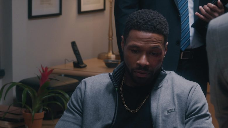 Boss Jacket in Ambitions - Season 1, Episode 7, Poison and Wine (2019) TV Show