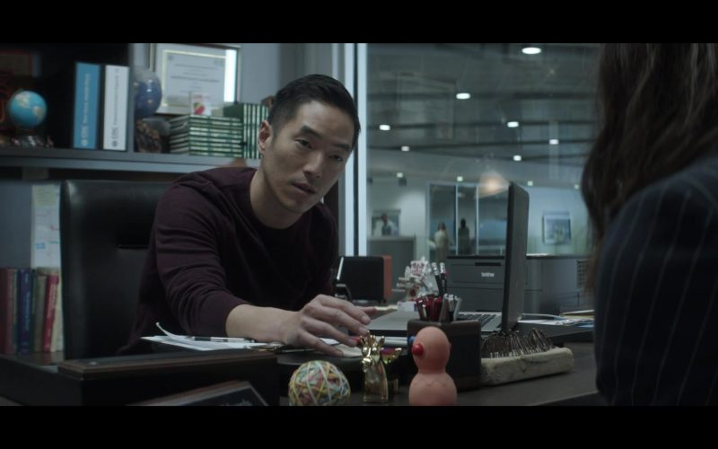 Leonardo Nam et al. sitting at a table