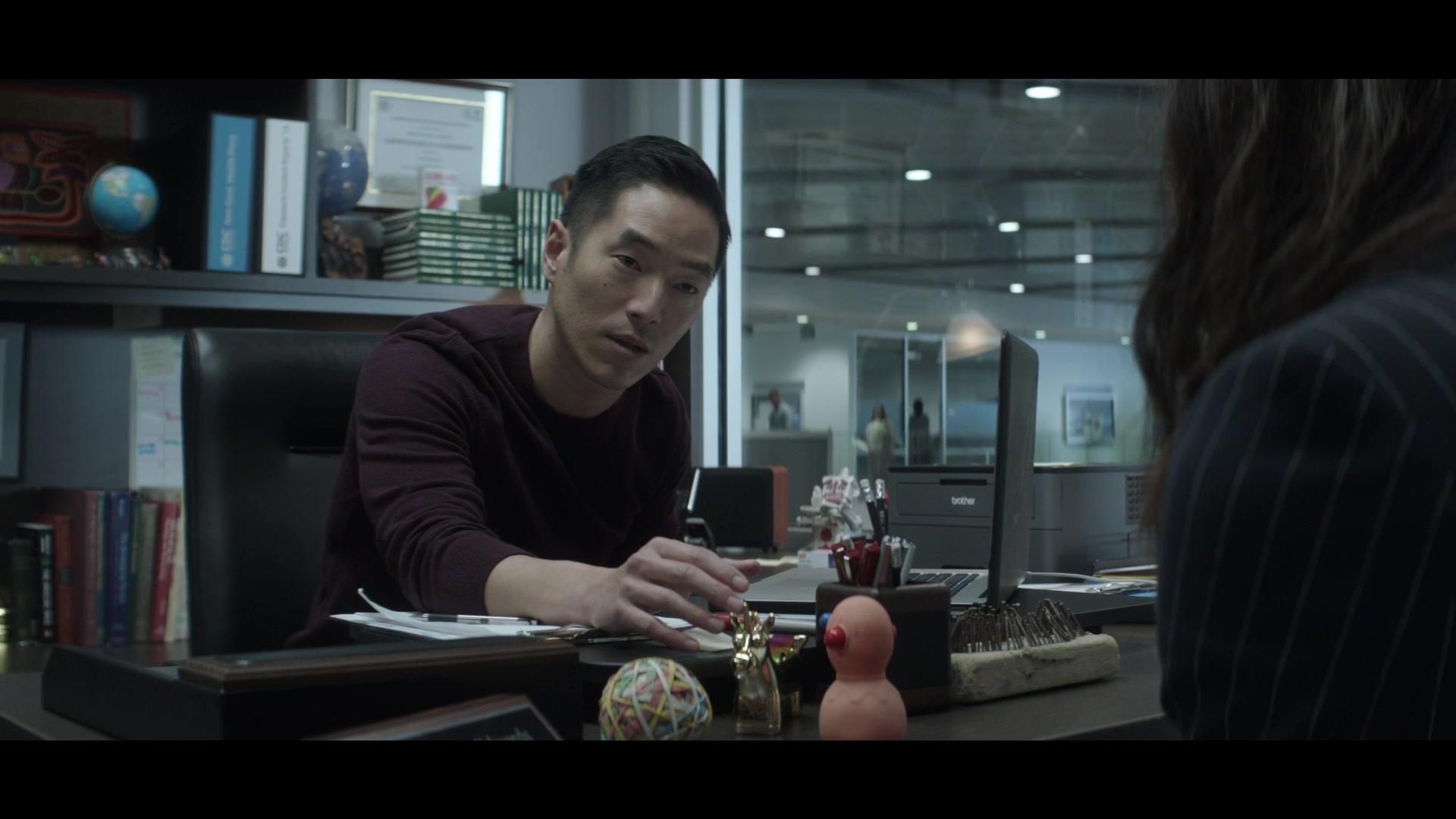 Brother Printer Used by Leonardo Nam in Swamp Thing - Season