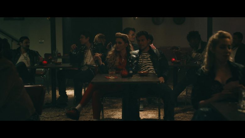 Bud Light Beer Enjoyed by Kathryn Newton in Goodbyes by Post Malone ft. Young Thug (2019) - Official Music Video Product Placement