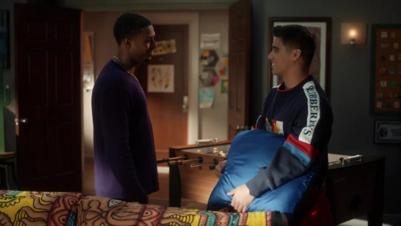 "Burberry Sweatshirt in Grown-ish - Season 2, Episode 17, ""Strictly 4 My..."" (2019) TV Show Product Placement"