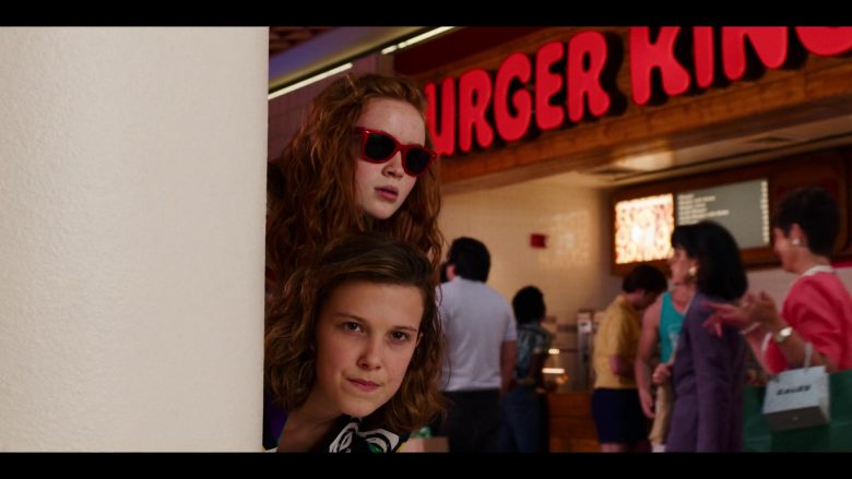 "Burger King Restaurant in Stranger Things - Season 3, Episode 2, ""The Mall Rats"" (2019) - TV Show Product Placement"
